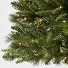 7.5ft Pre-lit Artificial Christmas Tree Douglas Fir Clear Lights - Wondershop™ - image 3 of 3