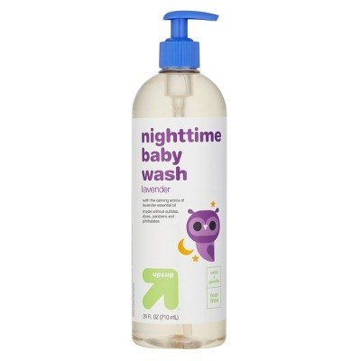 Nighttime Baby Wash with Vanilla & Apricot - 24 fl oz - up & up™