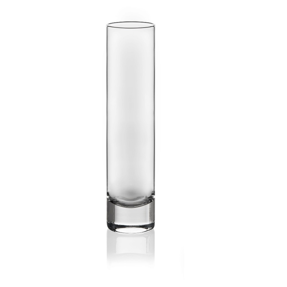 Image of Glass Cylinder Bud Vase Clear 7.5 - Libbey