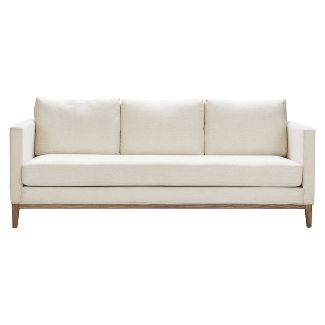 Guilford Sofa with Solid Wood Base Coastal Cream - Finch