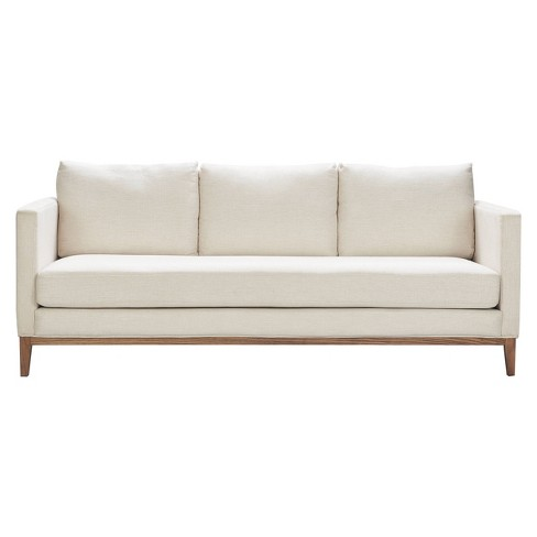 Guilford Sofa with Solid Wood Base Coastal Cream - Finch - image 1 of 4