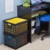 Storage Crate Black - Room Essentials™ - image 3 of 3