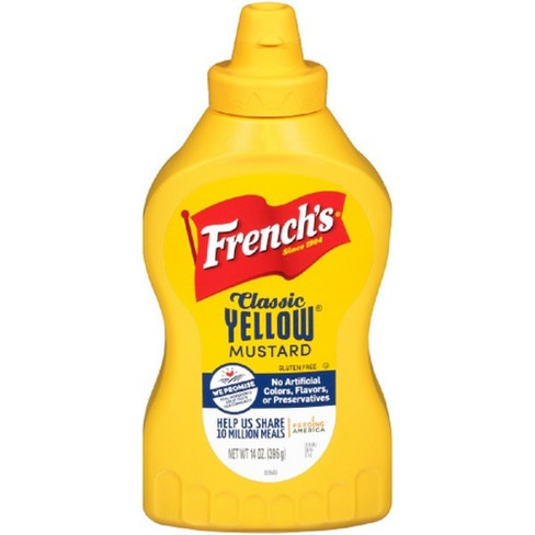 French's Classic Yellow Mustard 14oz - image 1 of 3