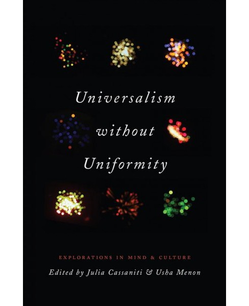 Universalism without Uniformity : Explorations in Mind and Culture (Paperback) - image 1 of 1