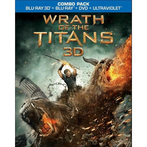 Wrath of the Titans 3D (2 Discs) (Includes Digital Copy) (UltraViolet) (3D/2D) (Blu-ray/DVD) - image 1 of 1