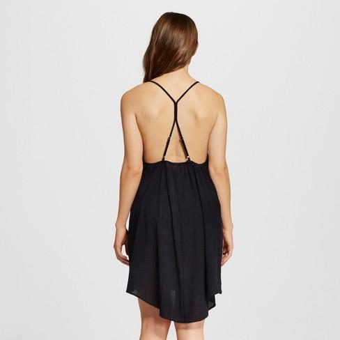 acaa71f2aae34 Women s Gauze Dress Cover Up - Black - M - Xhilaration™   Target