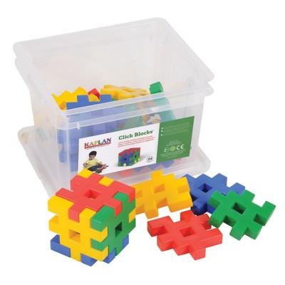 Kaplan Early Learning Click Blocks Manipulative Set  - 24 Pcs