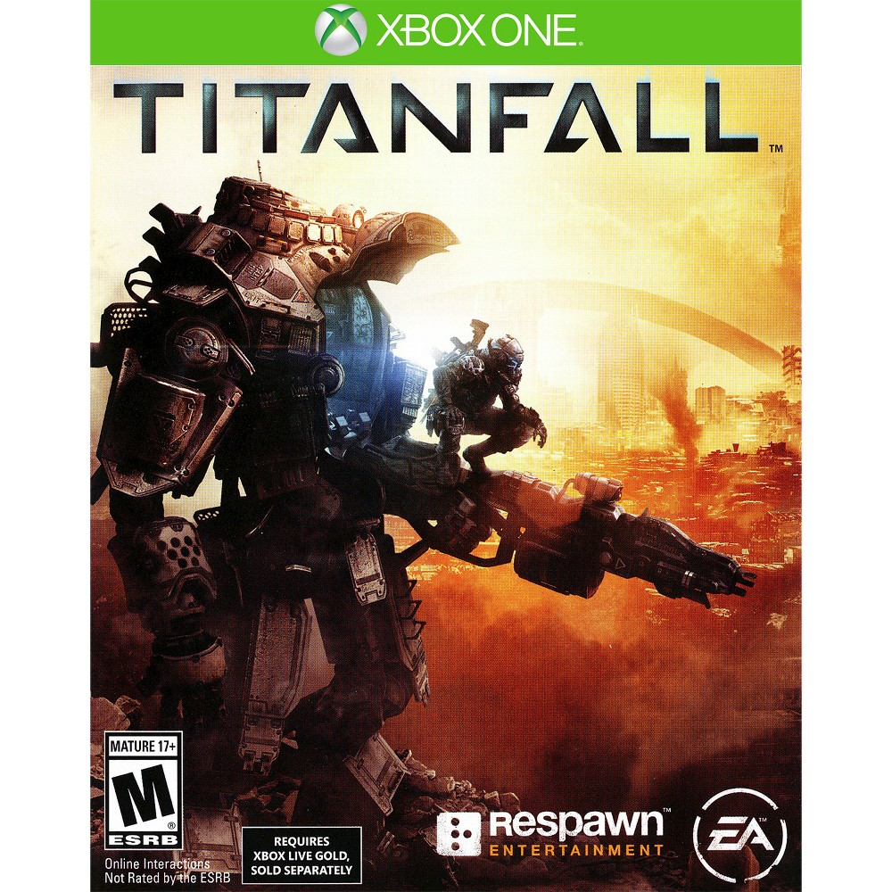 Titanfall Pre-Owned Xbox One Man versus machine is the challenge in Titanfall Pre-Owned (Xbox One) - Electronic Arts. The game works for Xbox One consoles. The pre-owned video game is in like-new condition and is recommended for ages 17 and older.