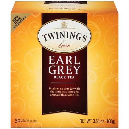 Twinings Classic Earl Gray Tea - 50ct