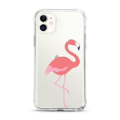 OTM Essentials Apple iPhone 11 Clear Case - Flamingo