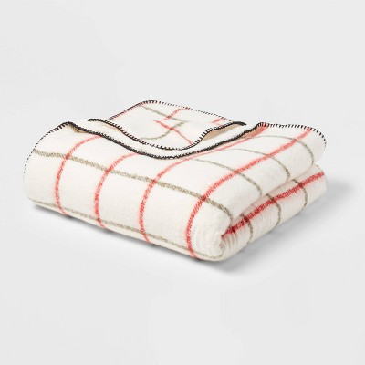 Full/Queen Holiday Print Bed Blanket - Threshold™