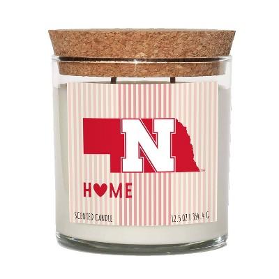 NCAA Nebraska Cornhuskers Home State Candle