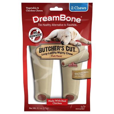 DreamBone Butcher's Cut Long Loasting Mighty Chew Pork Flavor 2ct