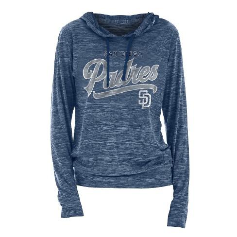 cheaper 98876 30f54 MLB San Diego Padres Women's Spacedye Lightweight Hoodie