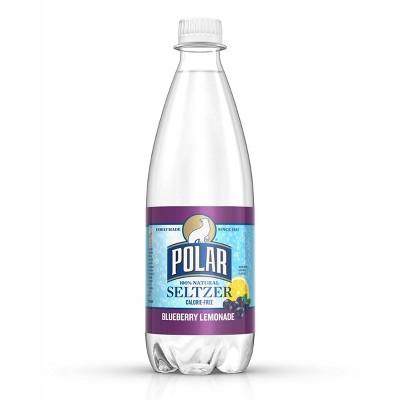 Polar Blueberry Lemonade Seltzer - 20 fl oz Bottles
