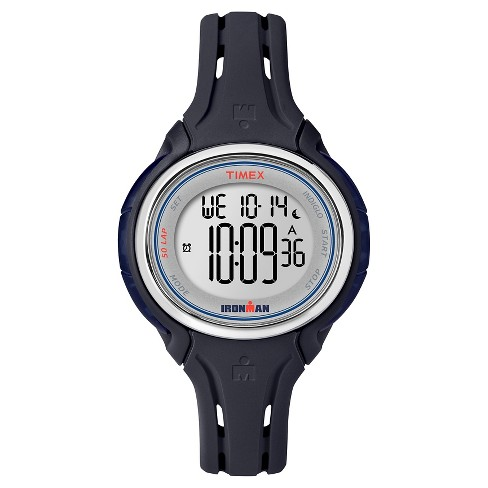Women's Timex Ironman® Sleek 50 Lap Digital Watch - Navy TW5K90500JT - image 1 of 1