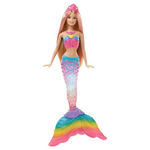 Barbie Rainbow Lights Mermaid Doll - image 1 of 9