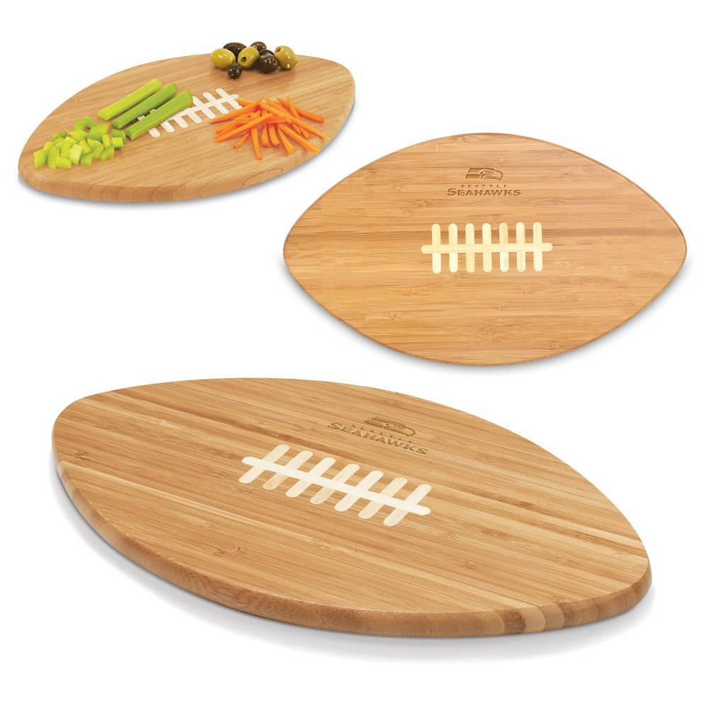 Seattle Seahawks Picnic Time Bamboo Cutting Board
