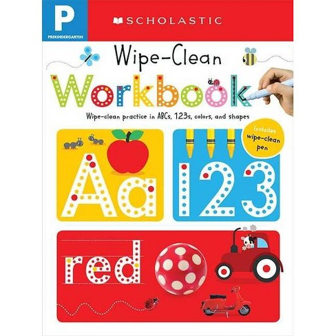 Wipe Clean Workbooks, Pre-Kindergarten ( Scholastic Early Learners) (Paperback) by   Scholastic Inc. - image 1 of 1