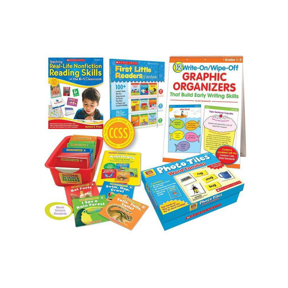 Common Core Grade 1 Classroom Kit - by Scholastic (Paperback)