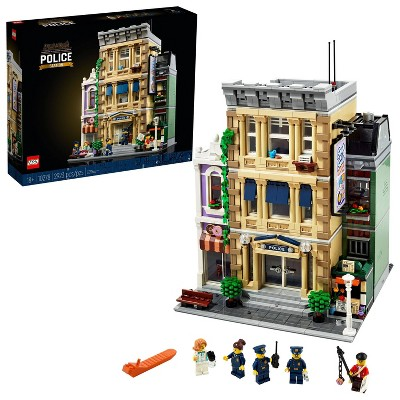 LEGO Police Station 10278 Building Toy - 2,923pc