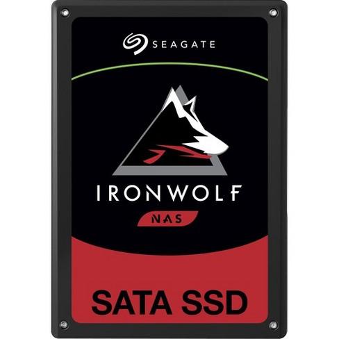 "Seagate IronWolf 110 ZA960NM10011 960 GB Solid State Drive - 2.5"" Internal - SATA (SATA/600) - 560 MB/s Maximum Read Transfer Rate - 5 Year Warranty - image 1 of 3"