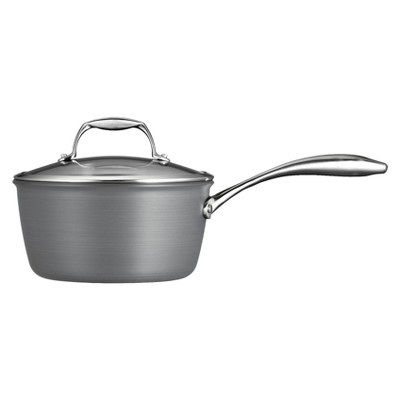 Tramontina 3qt Hard Anodized Sauce Pan - Gray