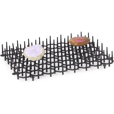 Bright Creations 10 Pack Rock Art Drying Rack for Painting, Arts and Crafts (Black, 8 x 6 in)