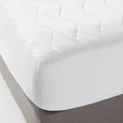 Queen Machine Washable Cooling Waterproof Mattress Pad - Room Essentials™