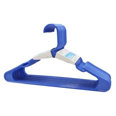 18c Plastic Hangers - Blue - Room Essentials™