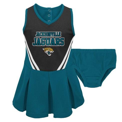 NFL Jacksonville Jaguars Toddler Girls' In the Spirit Cheer Set - image 1 of 3