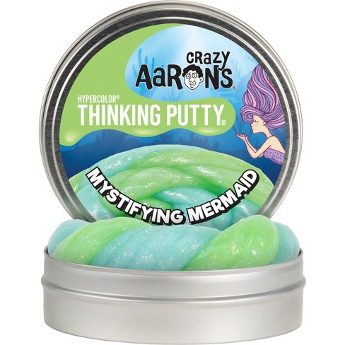 """Crazy Aaron's Thinking Putty - 4"""" Mystifying Mermaid - image 1 of 4"""