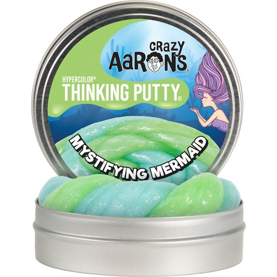 """Crazy Aaron's Thinking Putty - 4"""" Mystifying Mermaid image number null"""