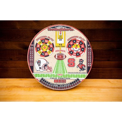 NCAA North Carolina State Wolfpack Official Football Dartboard