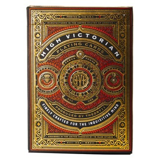 High Victorian Playing Cards Red : Target