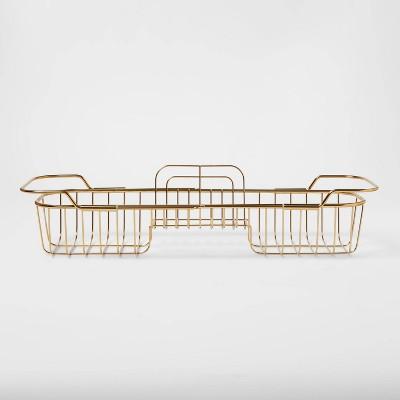 Bathtub Caddy Brass - Threshold™