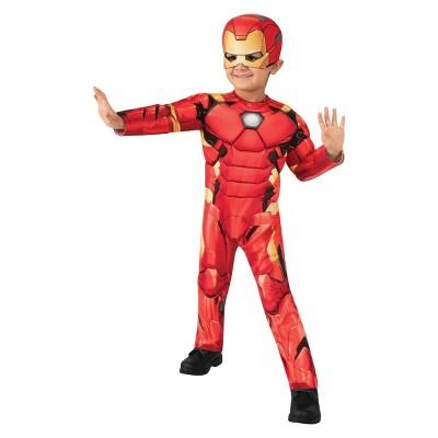 Toddler Marvel Iron Man Halloween Costume Jumpsuit