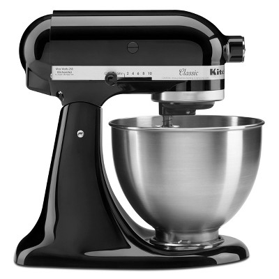 KitchenAid Classic Plus 4.5qt Stand Mixer Black KSM75