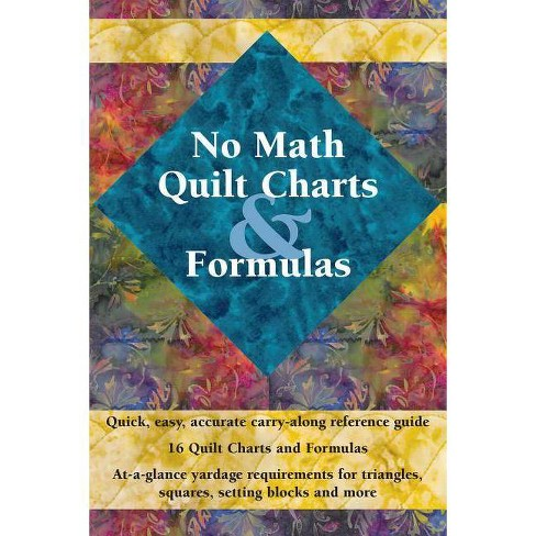 No Math Quilt Charts & Formulas - (Paperback) - image 1 of 1
