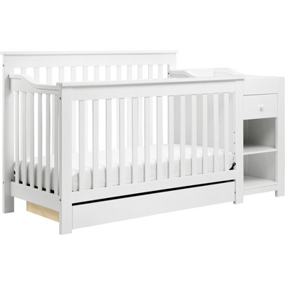 DaVinci Piedmont 4-in-1 Crib and Changer Combo - White