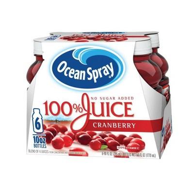 Fruit Juice: Ocean Spray 100% Juice