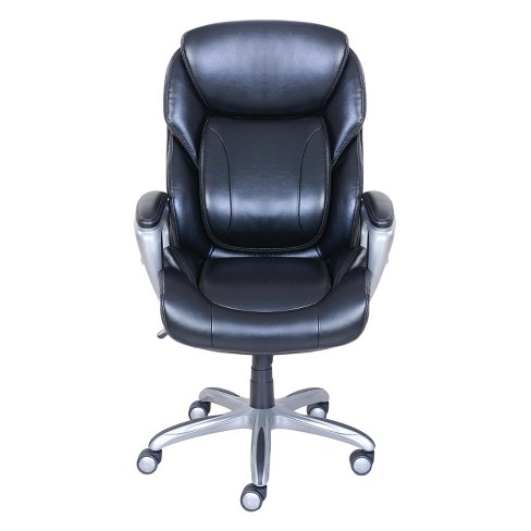 My Fit Executive Office Chair With Tailored Reach Black Serta Target