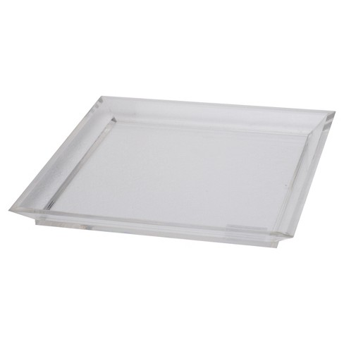 Acrylic Westby Square Tray - Large - A&B Home - image 1 of 1