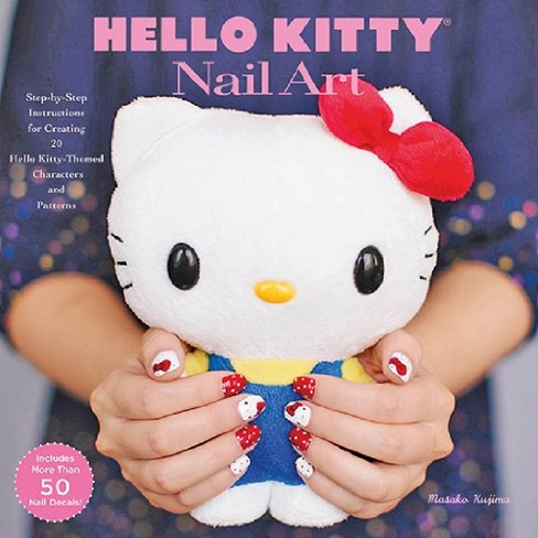 Hello Kitty Nail Art Step By Step Instructions For Creating 20