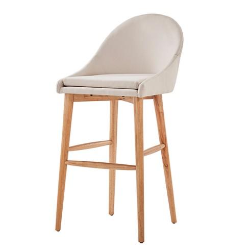 Conrad Natural Danish Modern 29 Quot Bar Chair Set Of 2
