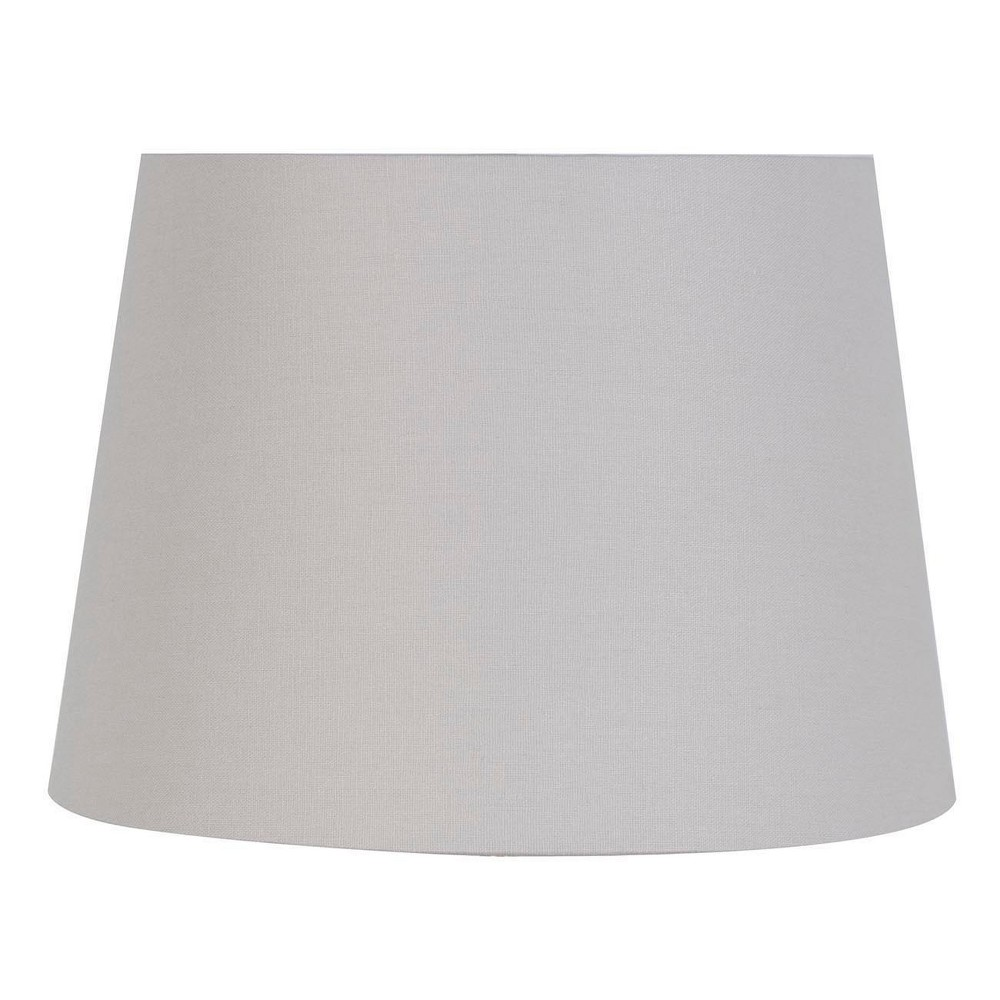 Small Light Mod Drum Lampshade Gray - Threshold