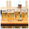 Cathy's Concepts 16 oz. Personalized Craft Beer Can Glasses (Set of 4) A-Z - image 3 of 3