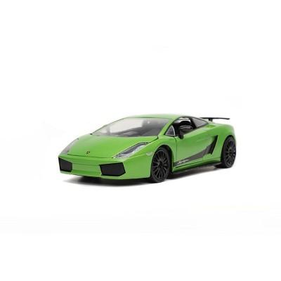 HyperSpec Lamborghini Gallardo Superleggera 1:24 Scale Die-Cast Vehicle - Lime
