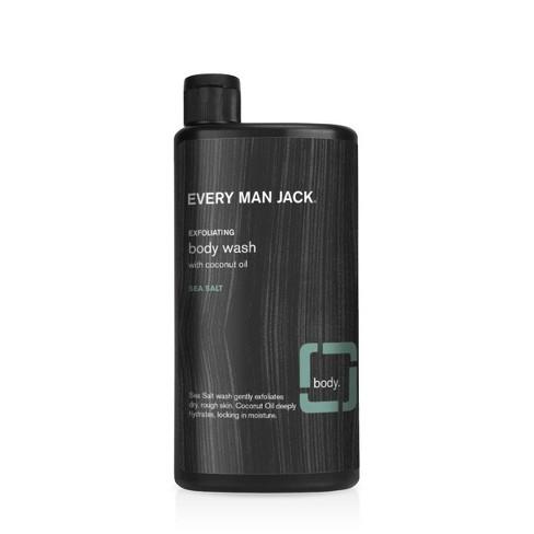 Every Man Jack Hydrating Sea Salt Body Wash with Coconut Oil - 16.9 fl oz - image 1 of 4