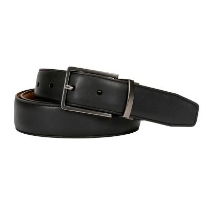 Swiss Gear Men's Reversible Buckle Belt - Black/Tan